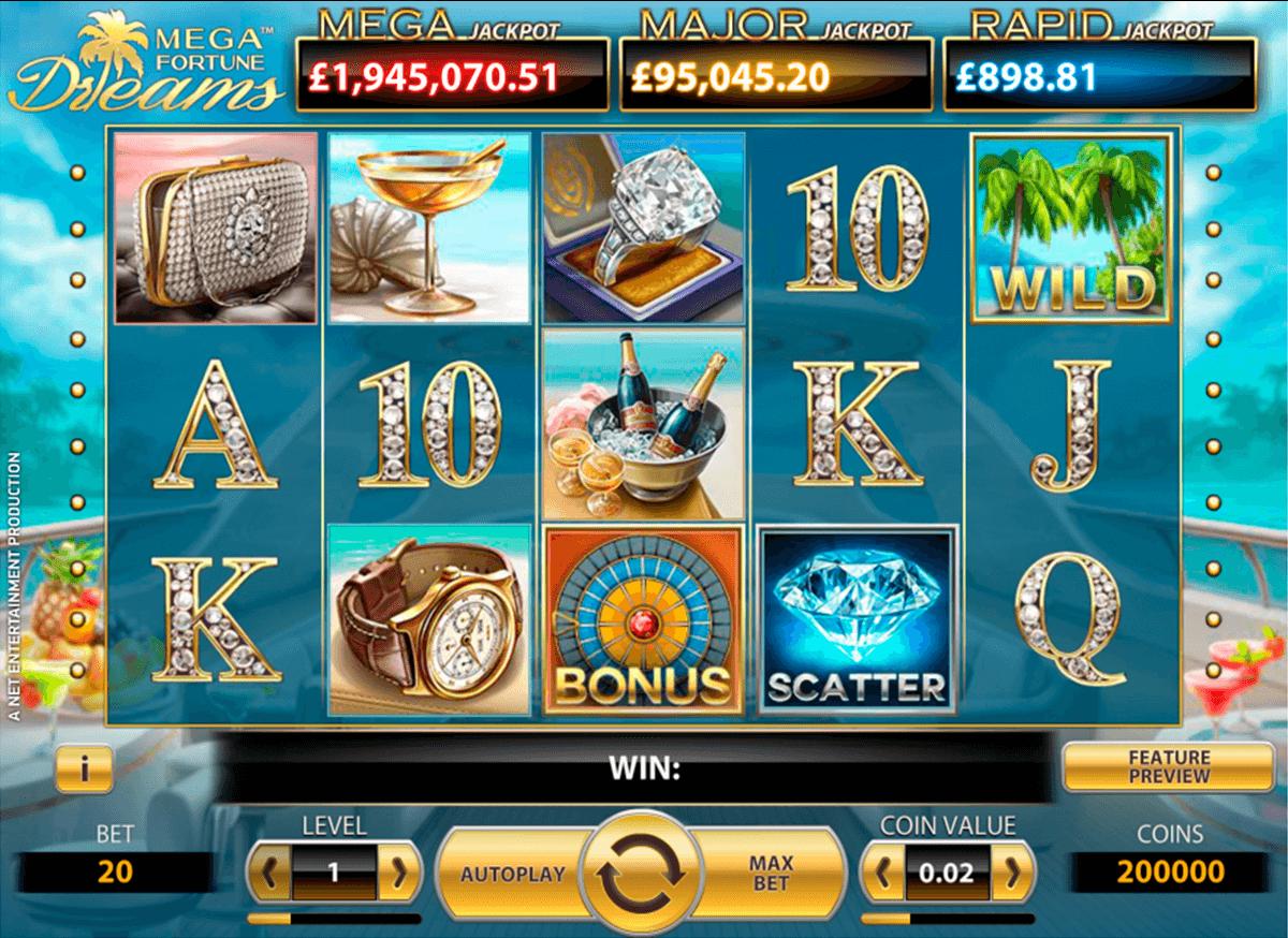 Casino Spielbank Mega Fortune Dreams -322350