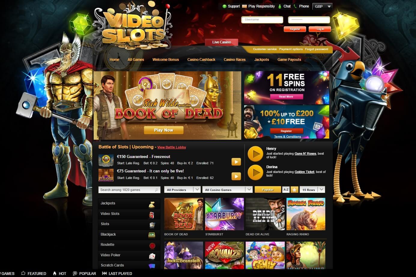 Videoslots Kontakt Casino -975929