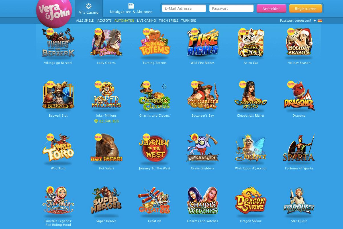 Spiele Auswahl Vera -40336