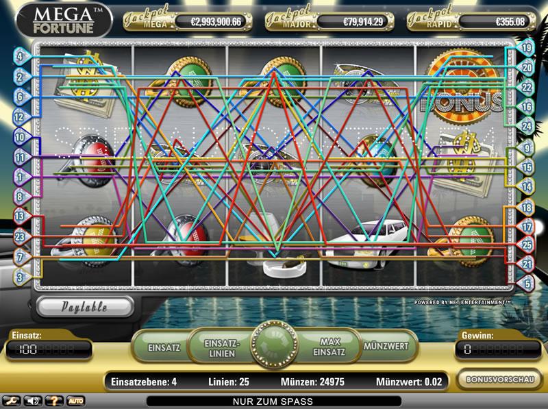 Fortune Jackpot Geheimnis Spielautomaten -721537