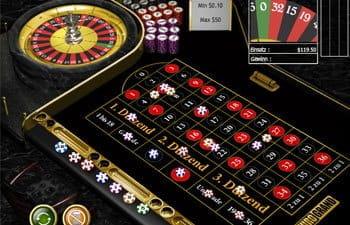 Roulette Tisch Verantwortungsbewusstes -830612