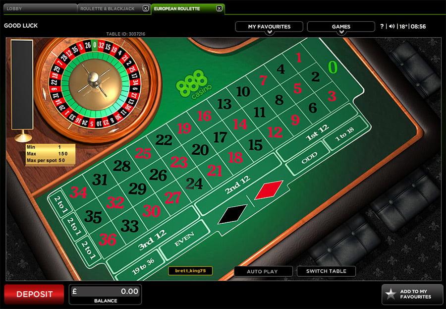 Roulette Tisch Verantwortungsbewusstes -482235
