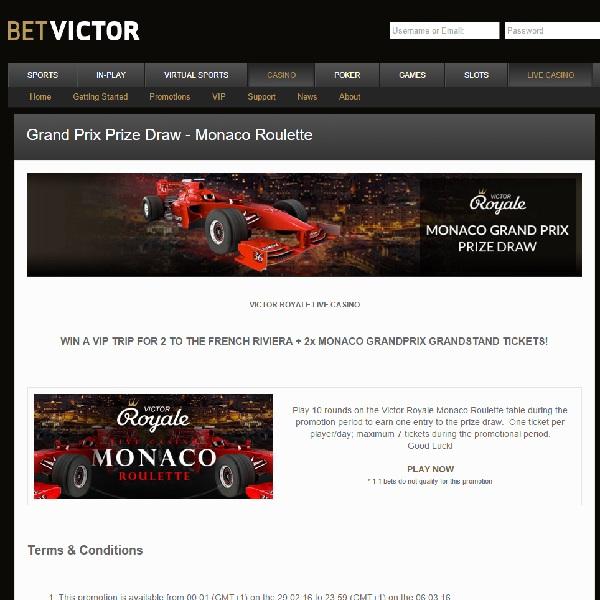 BetVictor online Bonus -488570