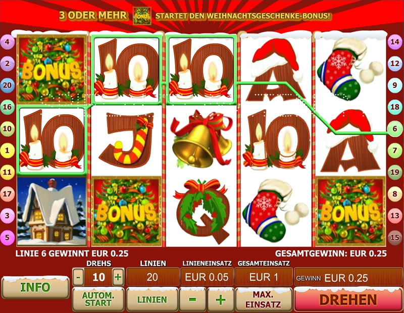 Alle online Casino Santas Surprise -248023