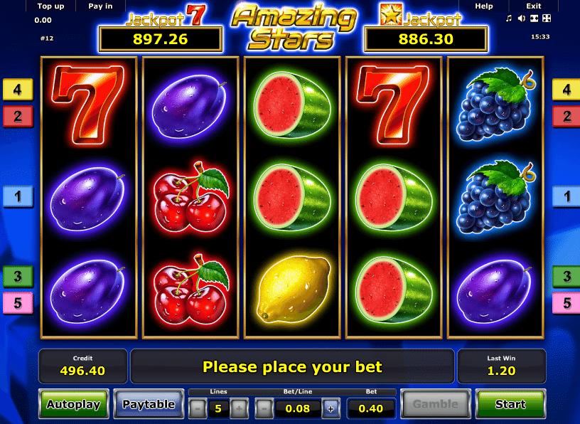 Amazing Stars online Nordbet Casino -250549