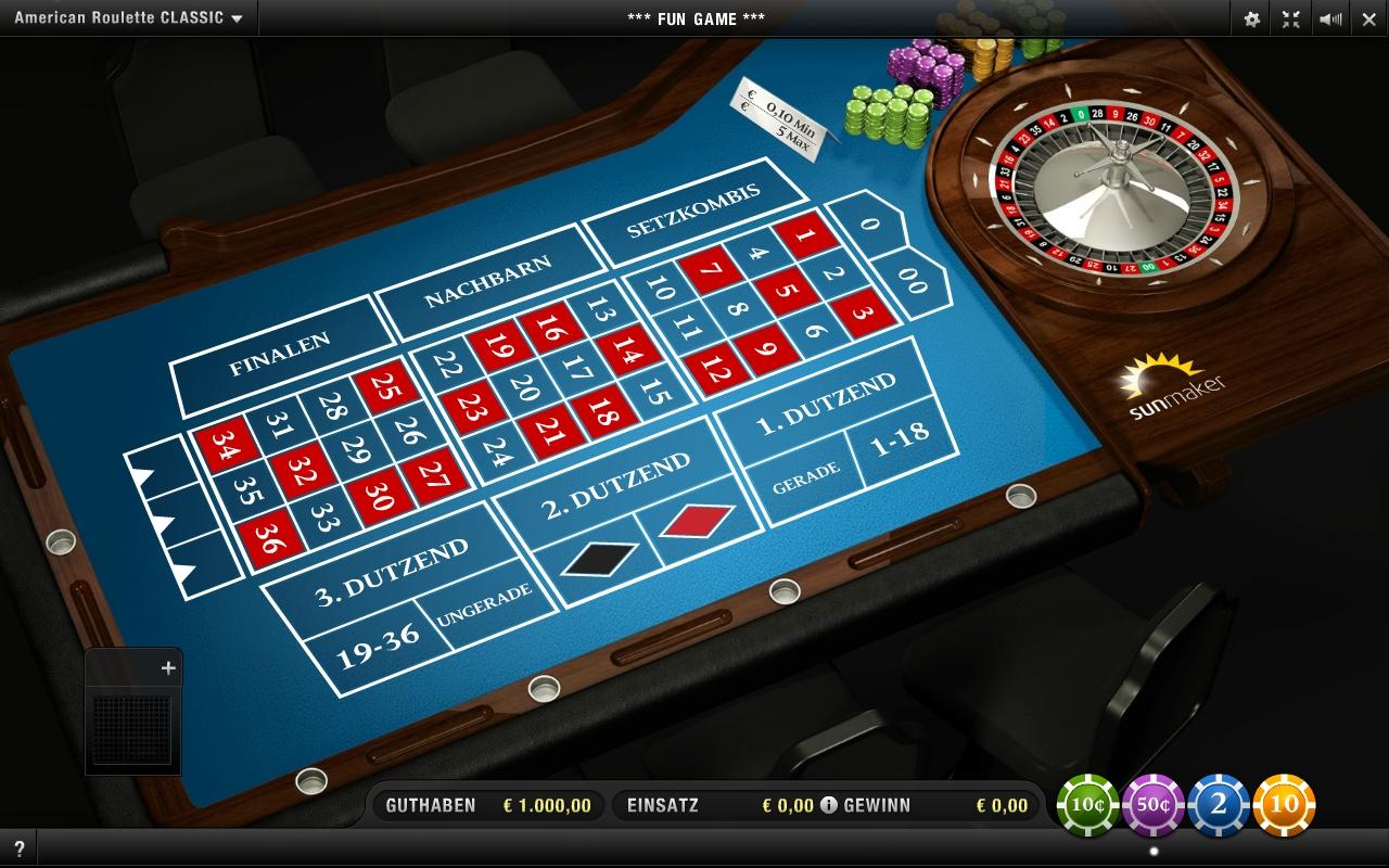 American Roulette spielen -427936