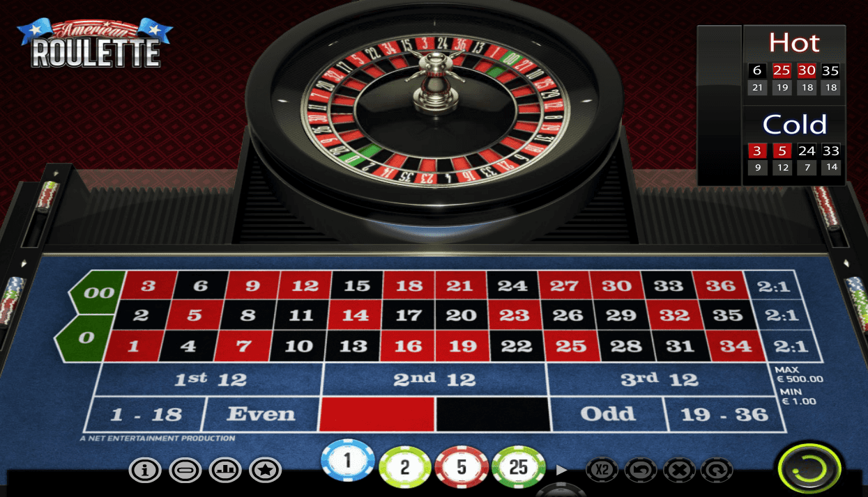 American Roulette -26094