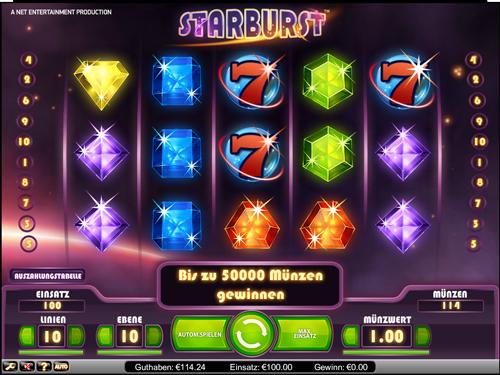 Auszahlungsquote Spielautomaten Starburst -905844