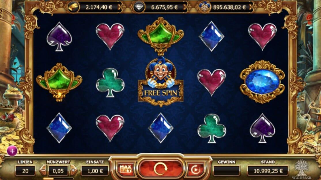 Internetspieler gewinnt Empire Fortune -908720