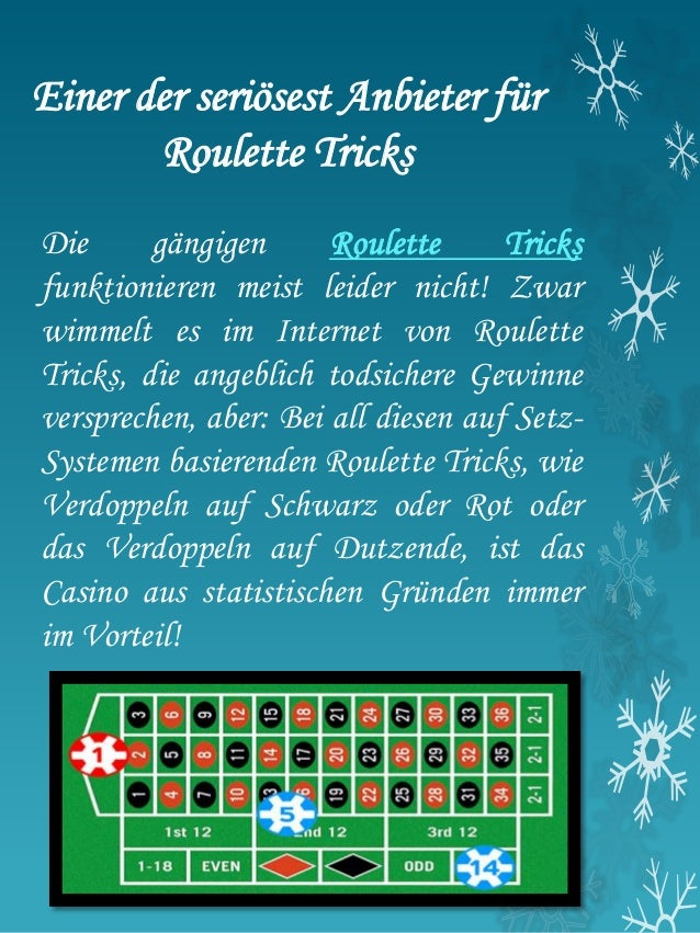 Roulette Satz Methode -328081