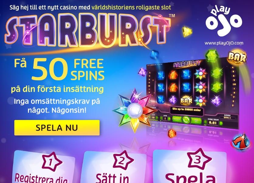PlayOJO gratis Reeltastic Casino -152509