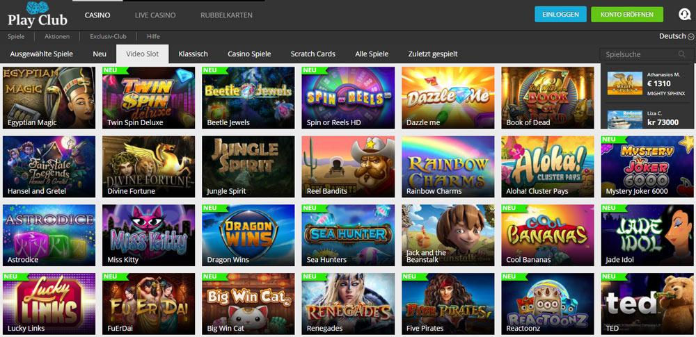 Neue Casinos -860633
