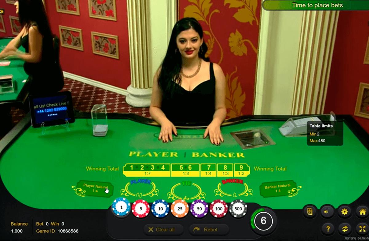 Baccara Kartenspiel 3D Poker -999028