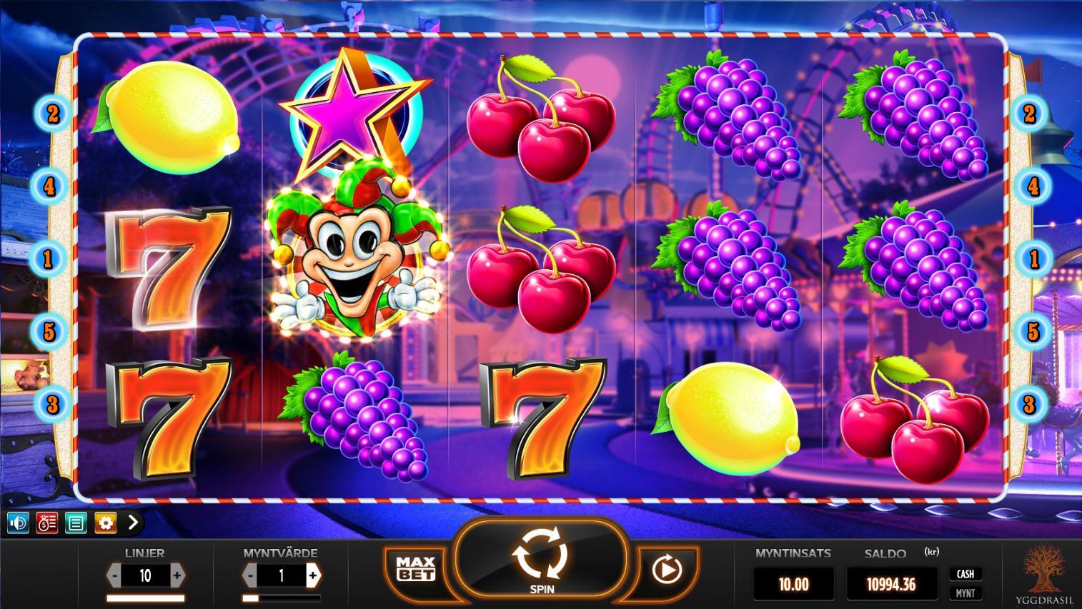 Überschüsse Spielautomaten -76905