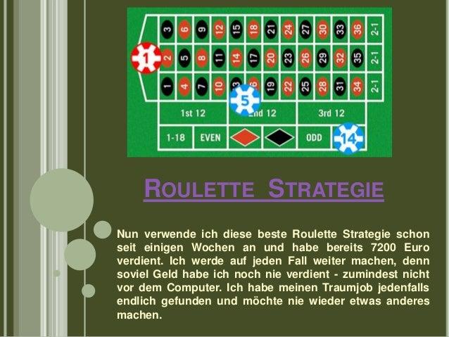 Beste Roulette Strategie -504369