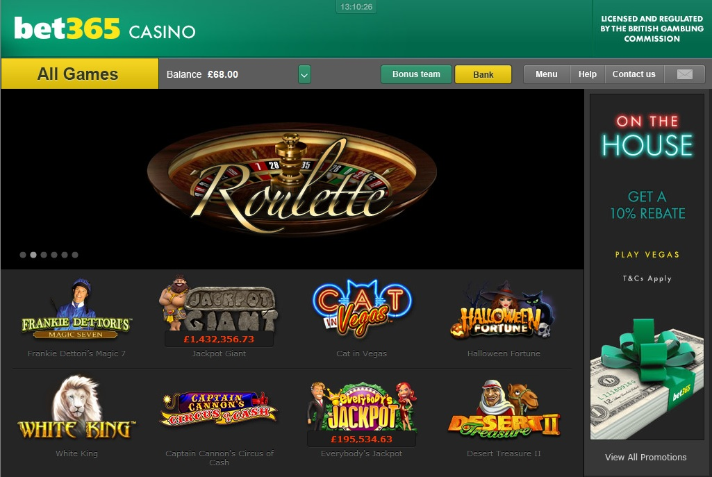Bet 365 Casino WildSlots -593135
