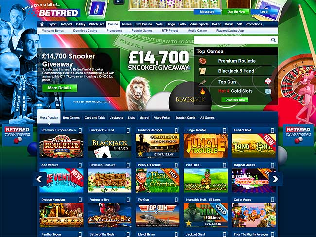 Betfred Playtech Casino -367455