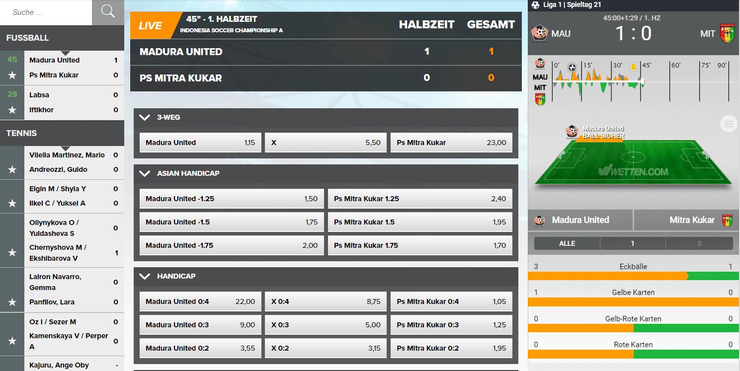 Buchmacher Sportwetten -281085
