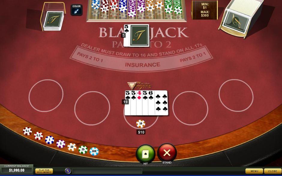 Black Jack Rechner -477850