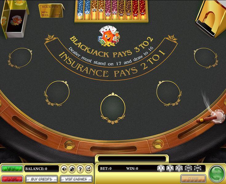 Black Jack Tabelle -547820