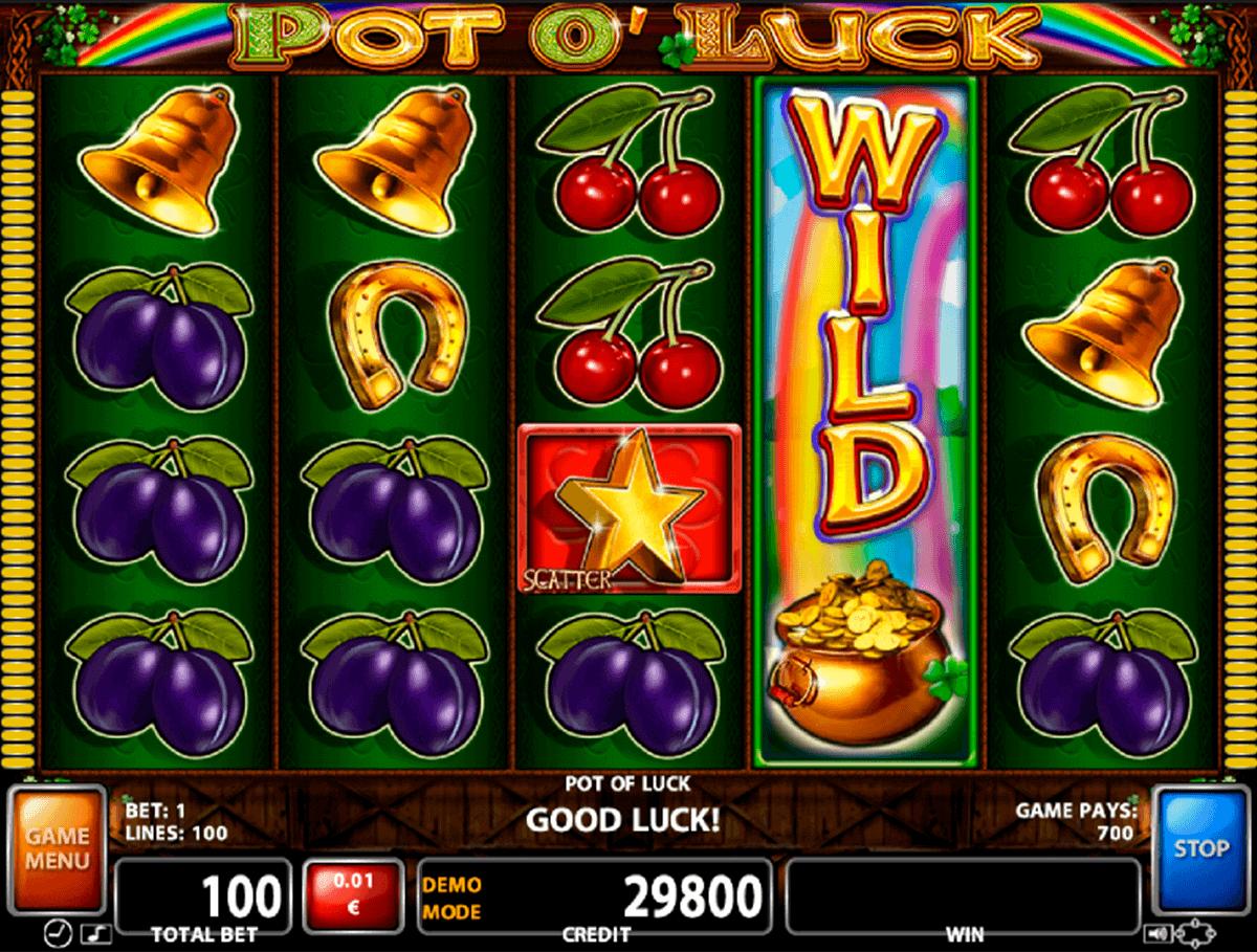 Blockchain Casino Pots of Luck -528544
