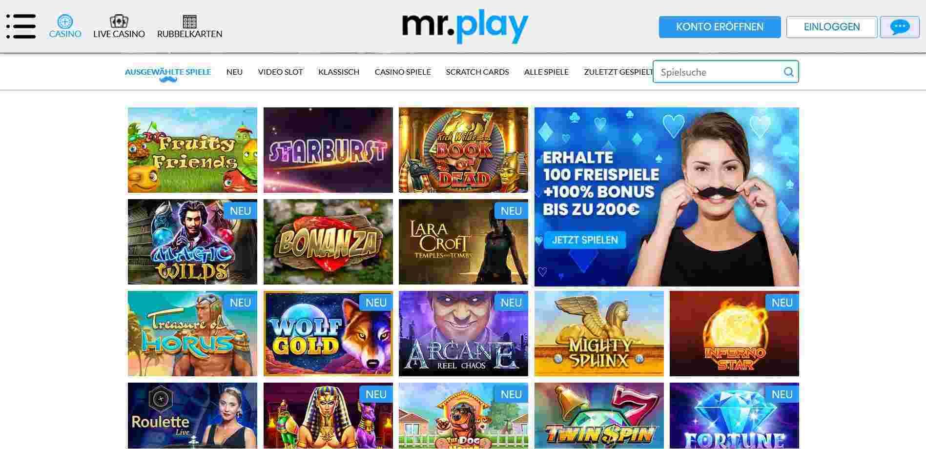 Casino mit Banküberweisung Mr Play -881921