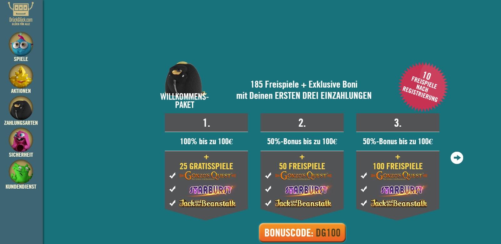 Casino Bonus ohne Einzahlung -820375