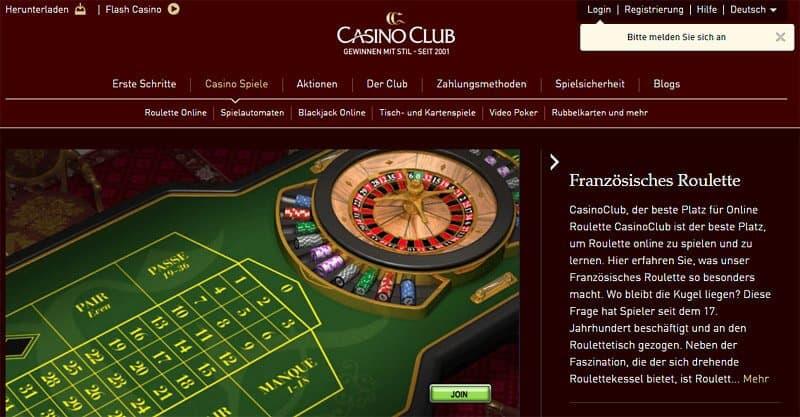 Casino Club Roulette -83290