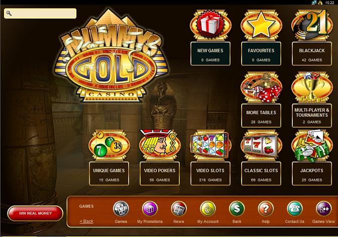 Mummys Gold Casino Erfahrungen