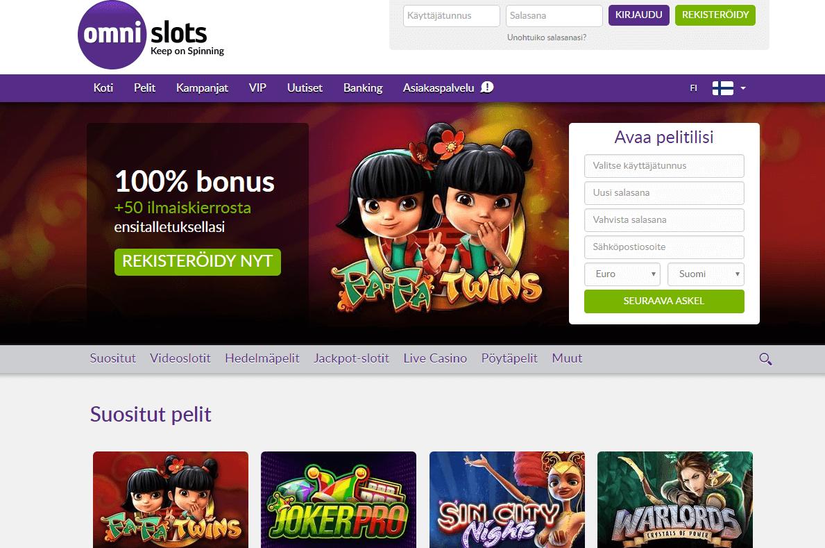 Casino Room Bonus OmniSlots -513043