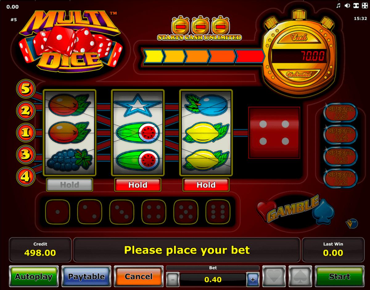 Tastenkombinationen Spielautomaten