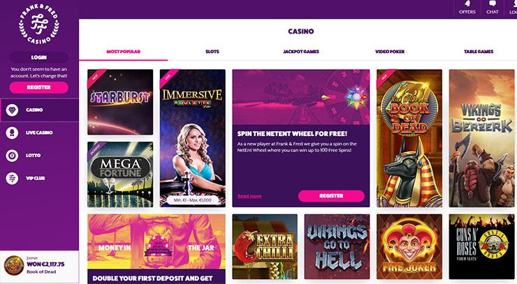 Spielen 77 Jackpot Casino Frank -616592