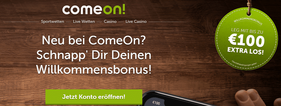 Spielautomaten Zufall ComeOn -574952