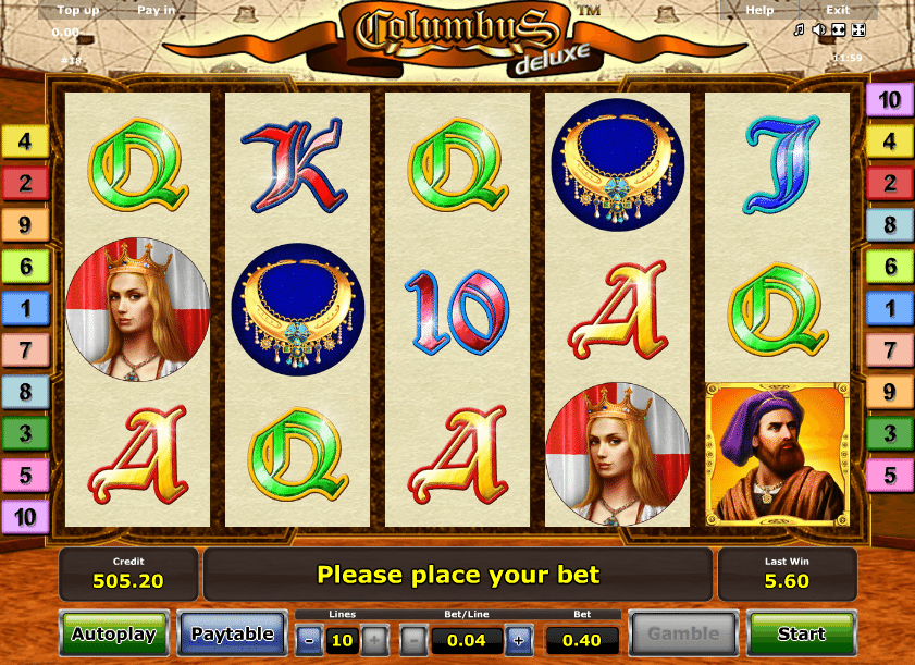 Columbus Deluxe gratis Luxury Casino -431240