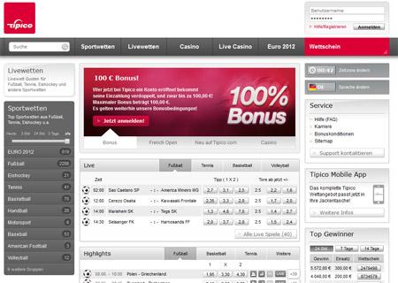 Tipico Bonus umsetzen -298400