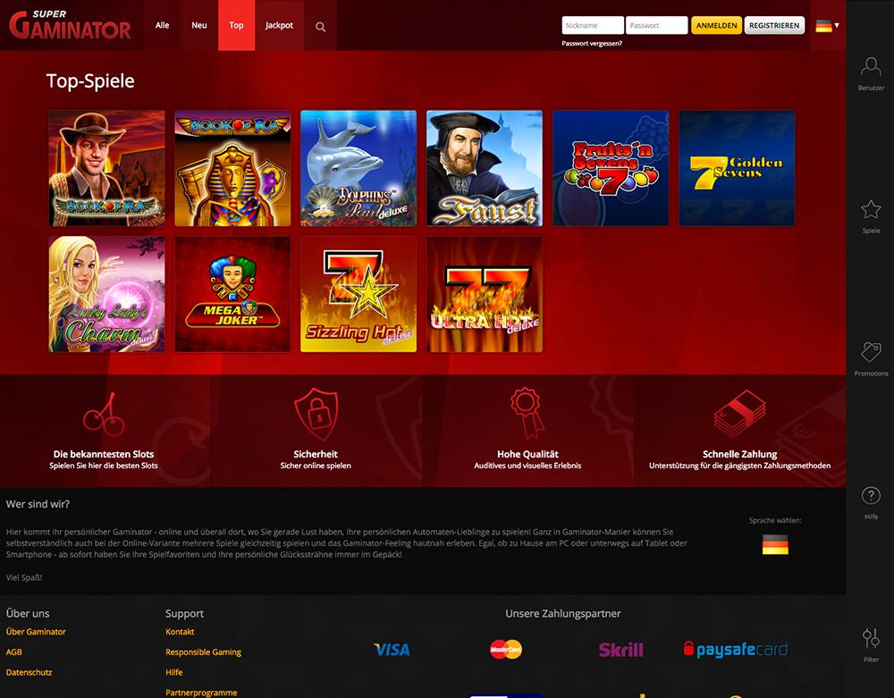 Demo Spiel Super Gaminator Casino -341935