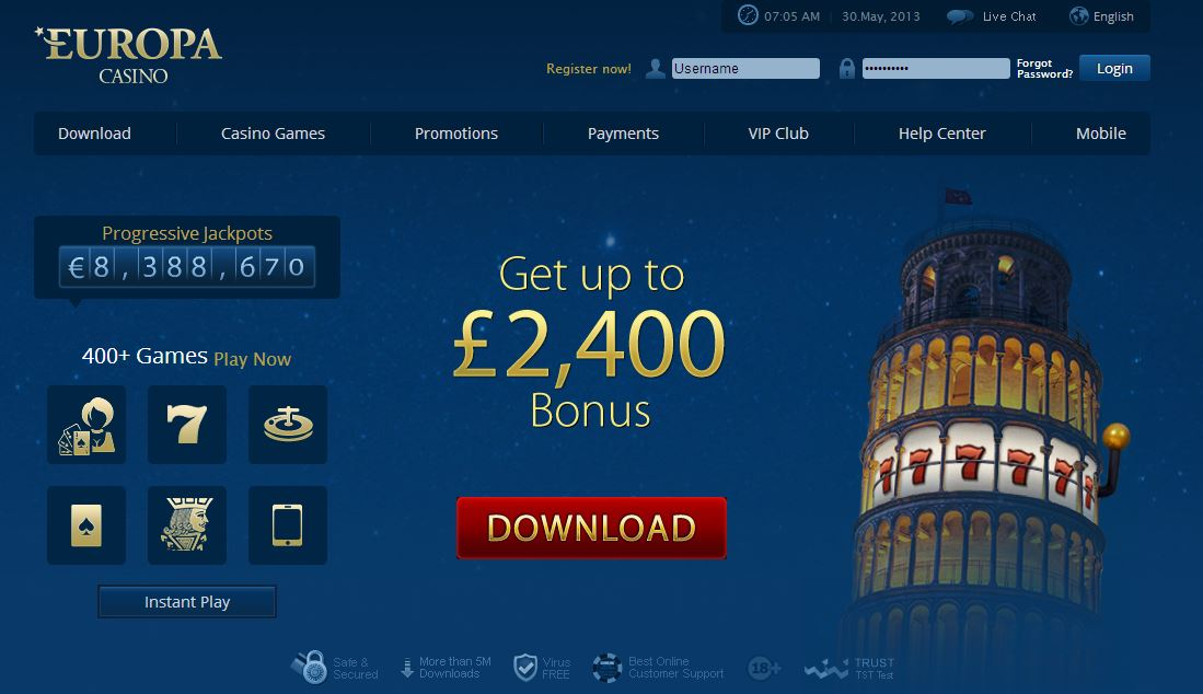 Top Casino in Europa -672410