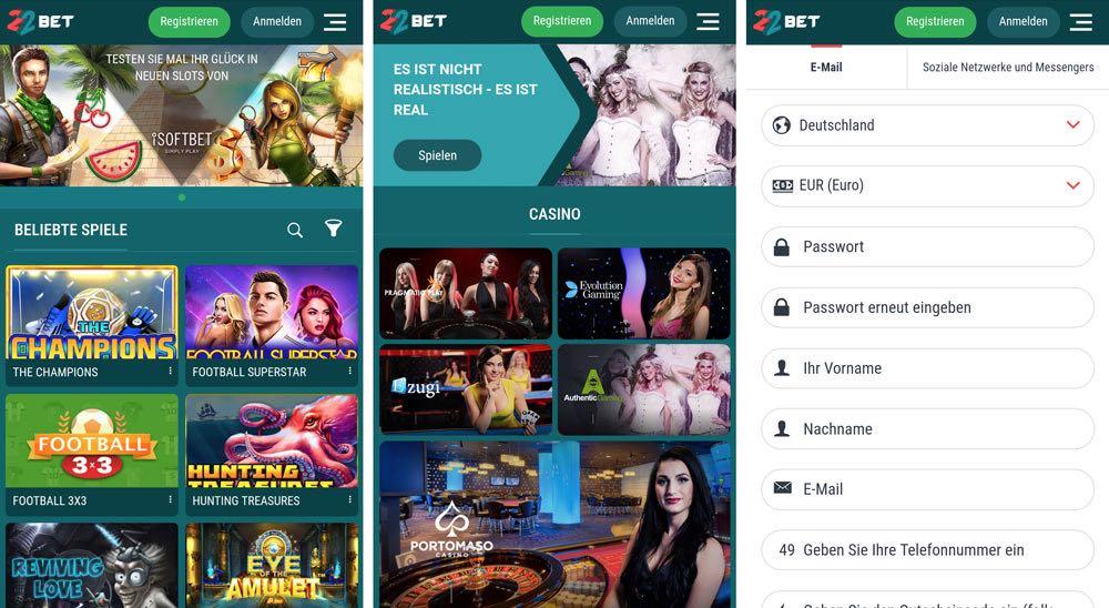 Stream Spiel Casino 22bet -204732