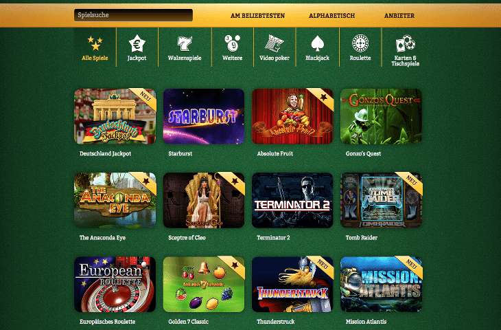 Zugelassene online Casinos Deutschland -710997
