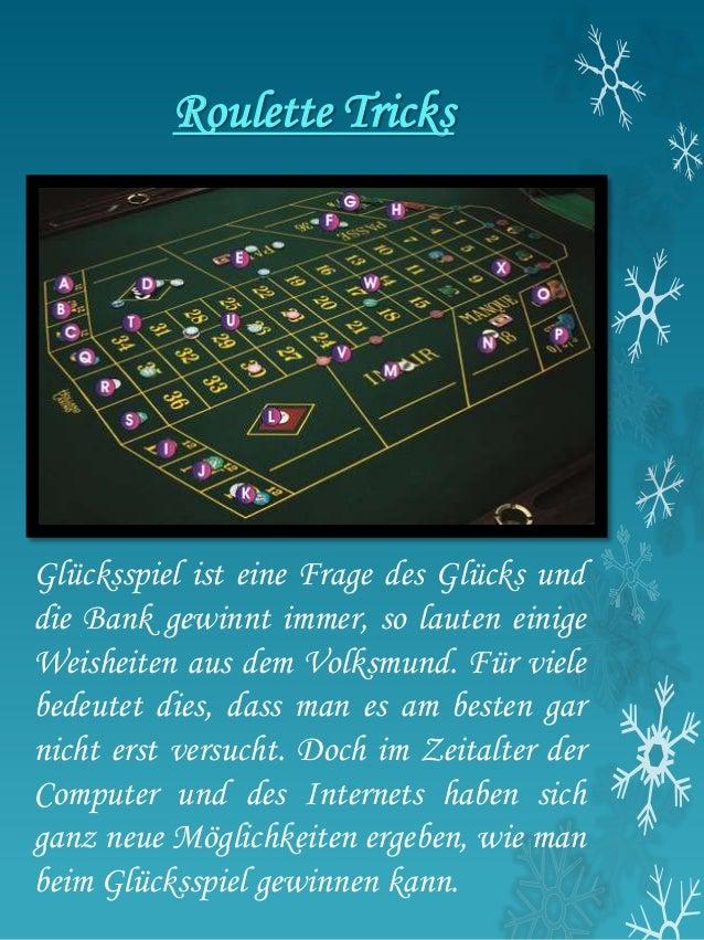 Roulett Tricks Spielautomaten Niederösterreich -222965