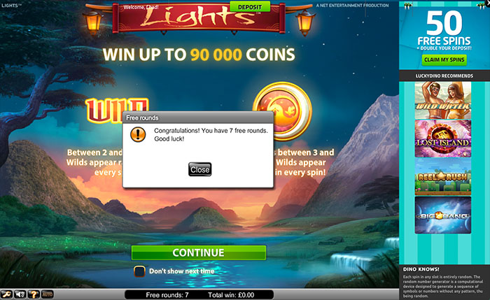 Casino Korfu Cash Free Spins -52879