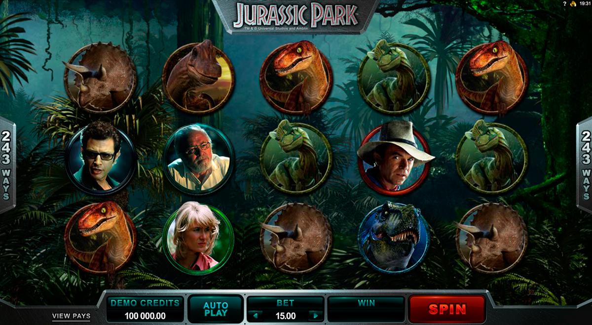 Jurassic Park kostenlos Wildblaster -40582