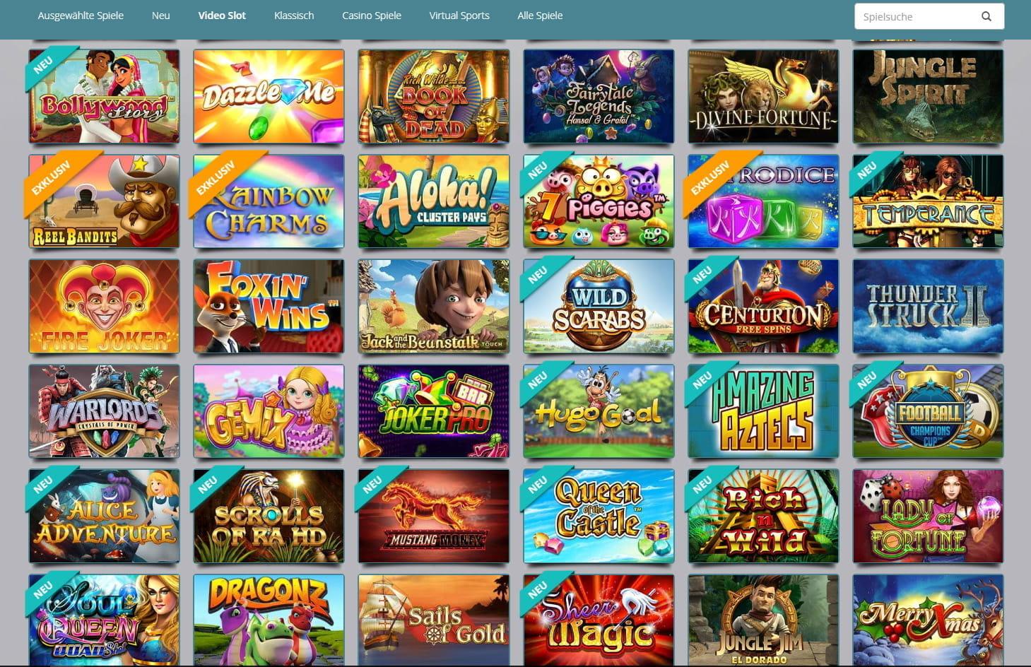 Glucksspiele Online Gewinnchance