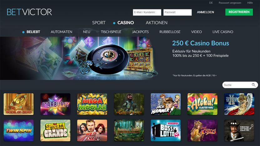 Casino Online Anbieter