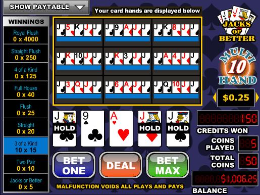 Poker For -100400