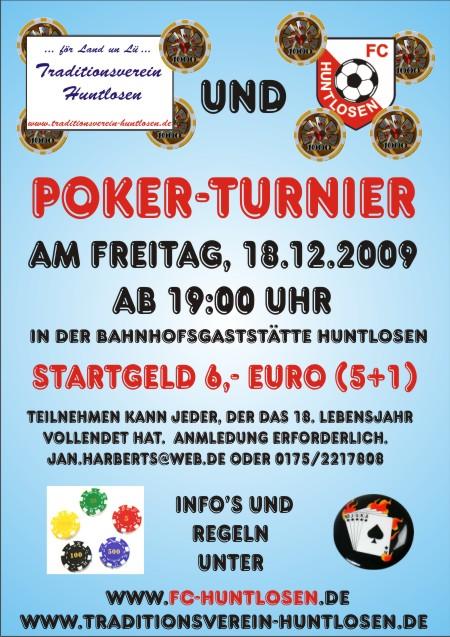 Poker Turnier Wildblaster -813137