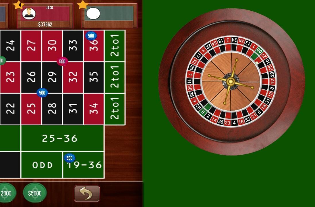 Roulette 0 -784245