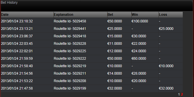Roulette online Auszahlung -725864