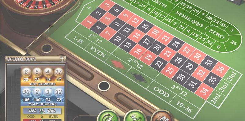 Roulette Orphelins Bonus -986862