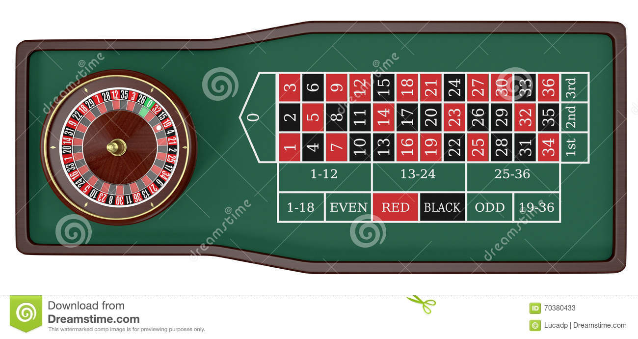 Roulette Rot -25233